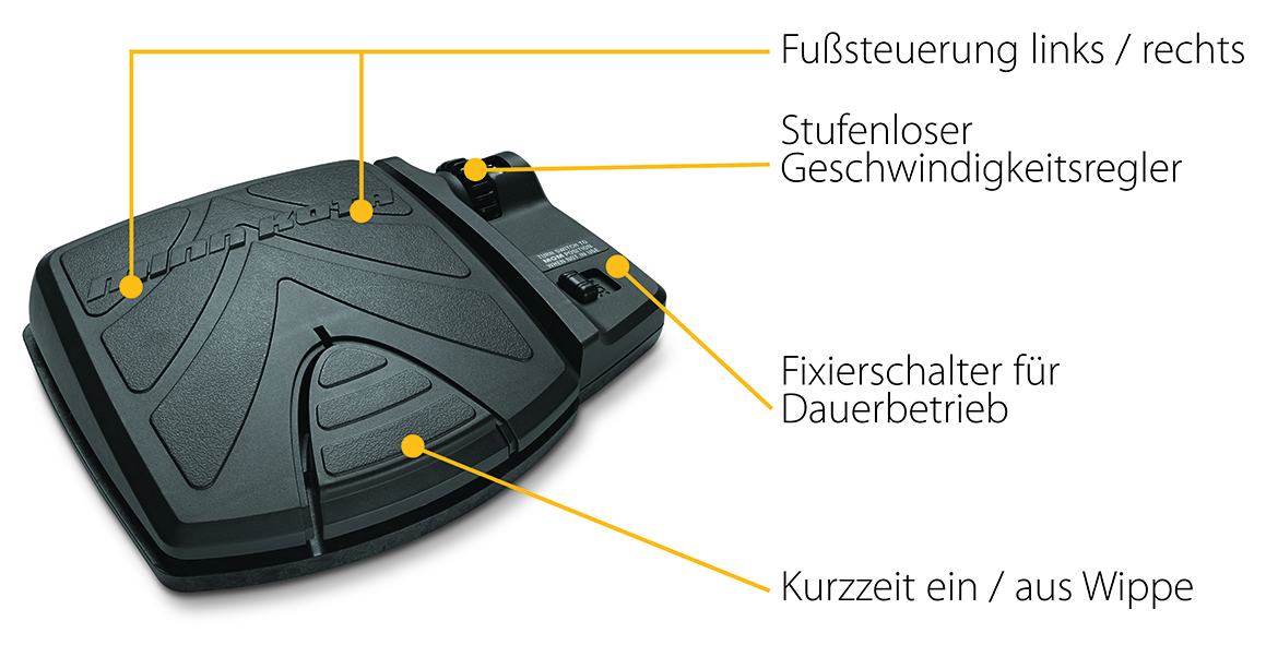 fusspedal powerdrive